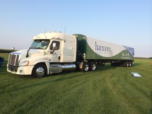 Harmony turfgrass sod delivery