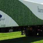 Sod delivery truck